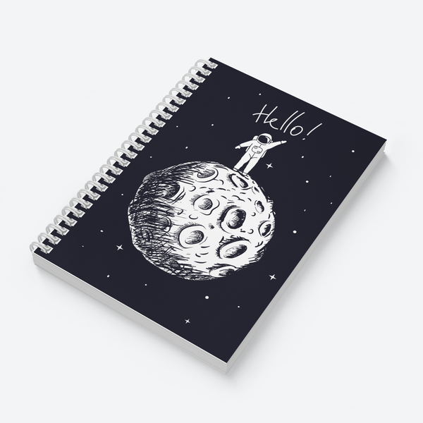 Hello & Lost in Space Combo - Pack of 2 - Wiro Notebooks