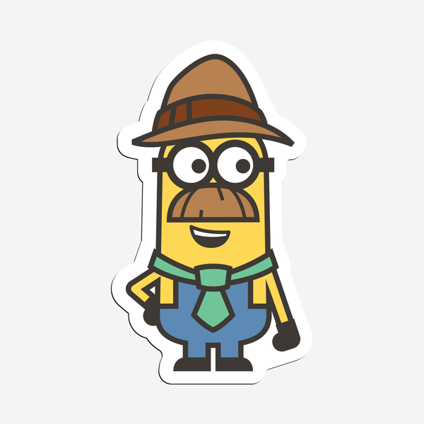 Wannabe Minions - Magnetic Stickers