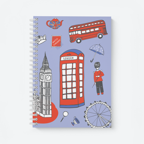 London Doodle - Wiro Notebook
