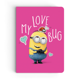 Limited Edition Notebook - My Love Bug - Valentine's Day - Despicable Me/Minions
