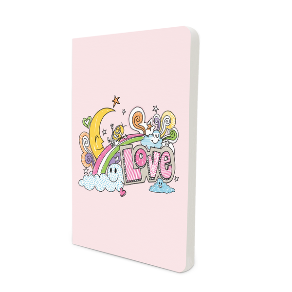Limited Edition Notebook - Love Doodle - Valentine's Day - Despicable Me/Minions