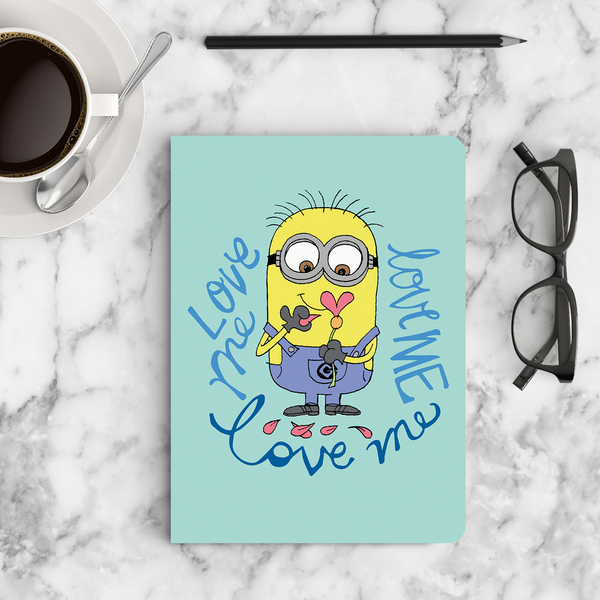 Limited Edition Notebook - Love Me - Valentine's Day - Despicable Me/Minions