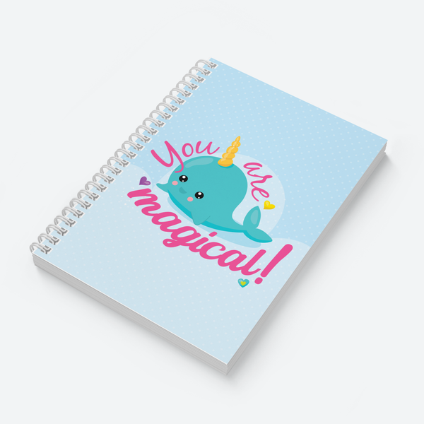 Dream Big & Narwhal Combo - Pack of 2 - Wiro Notebooks