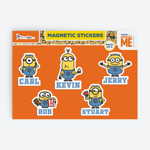 Minions Team - Magnetic Stickers