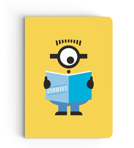 Notebook - Grammer - Despicable Me/Minions