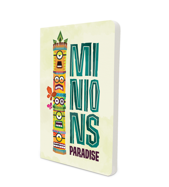 Notebook - Minions Paradise - Despicable Me/Minions
