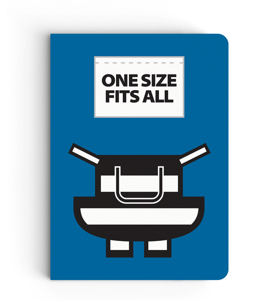 Notebook - One Size Fits All (Blue) - Despicable Me/Minions