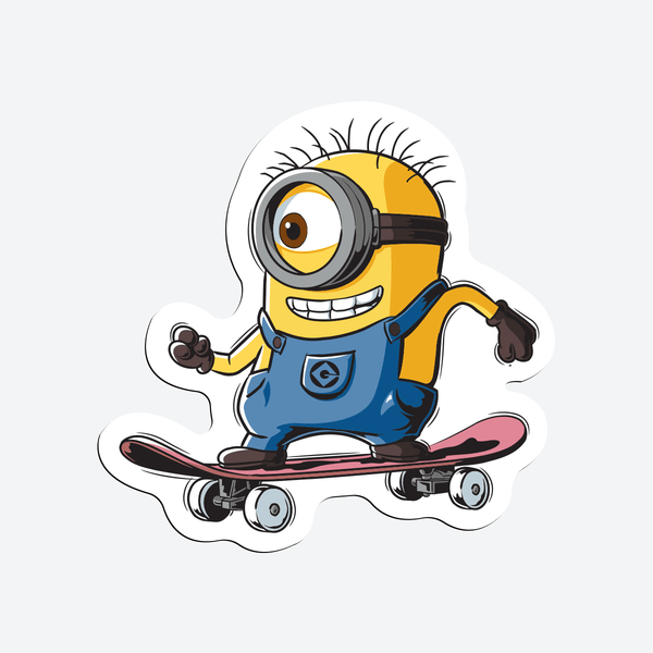 Minions Outing - Magnetic Stickers