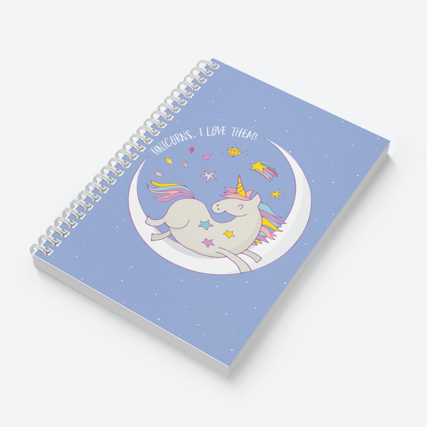 Create Magic & Love Unicorns Combo - Pack of 2 - Wiro Notebooks