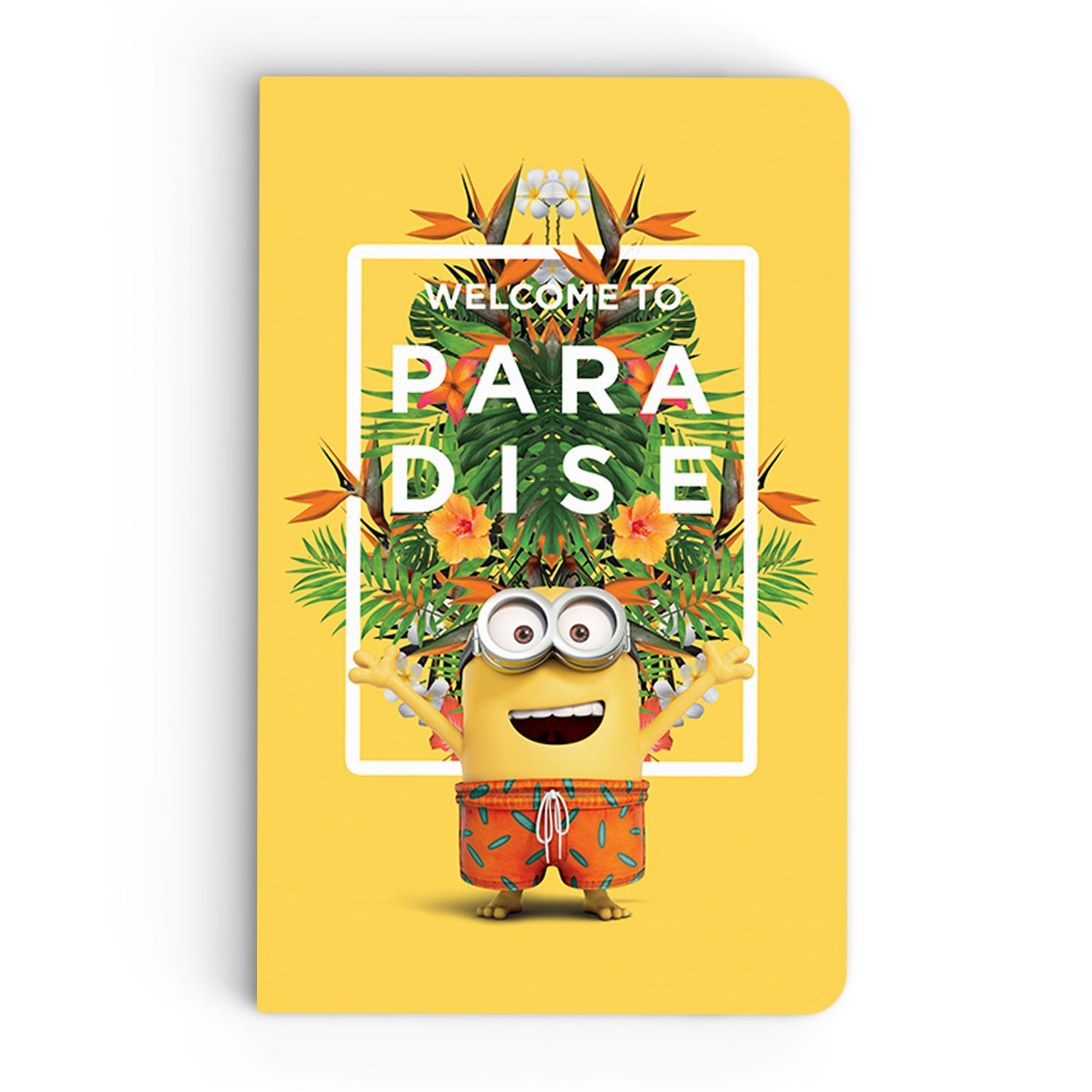 Thin Notebook - Welcome to Paradise - Despicable Me/Minions