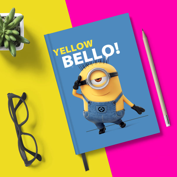 Flapbook Hardbound - Yellow Bello - Despicable Me/Minions