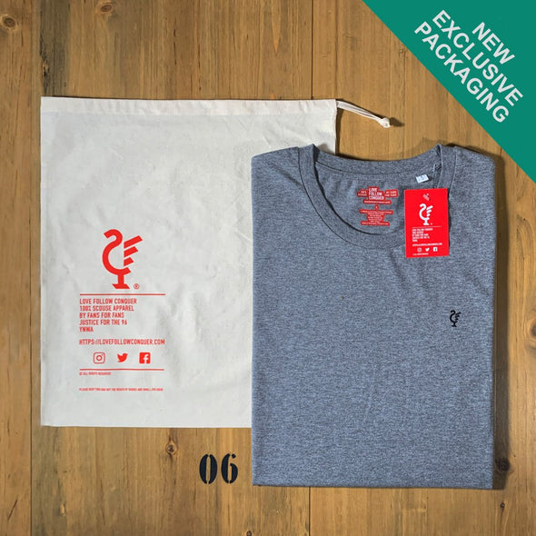 Anfield Road navy t-shirt