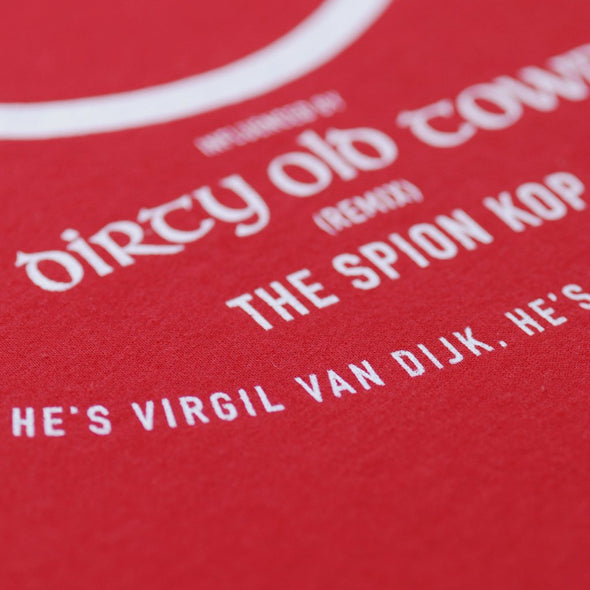 SAMPLE SALE Big Virg red t-shirt