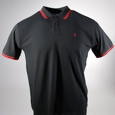 Scouse 77 Polo Black/Red