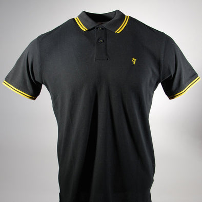 Scouse 77 Polo Black/Yellow