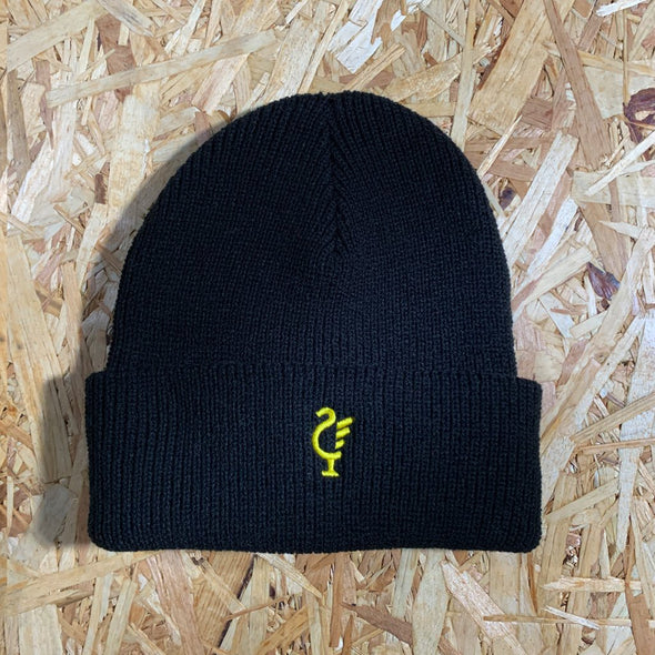 Scouse 77 beanie black/gold