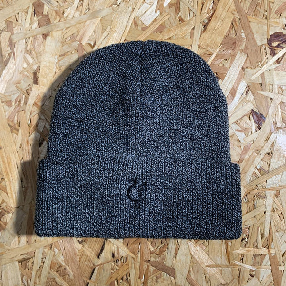 Scouse 77 beanie charcoal/black