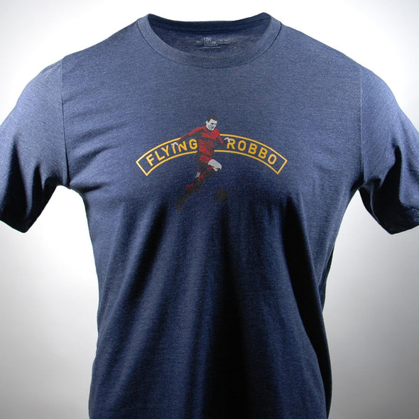 Flying Robbo navy t-shirt