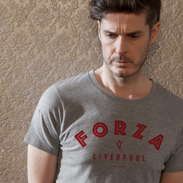 SAMPLE SALE Forza Liverpool grey t-shirt