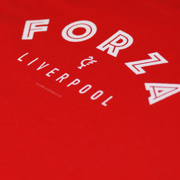 Junior Forza Red t-shirt