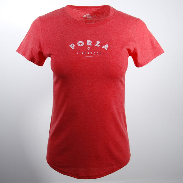 Women's Forza Red t-shirt