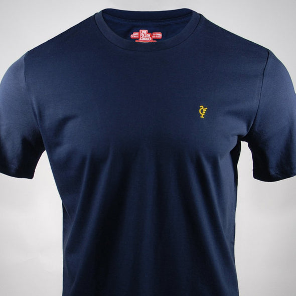 Scouse 77 Euro navy t-shirt
