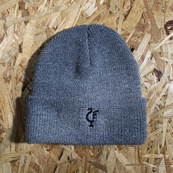 Scouse 77 beanie grey/black