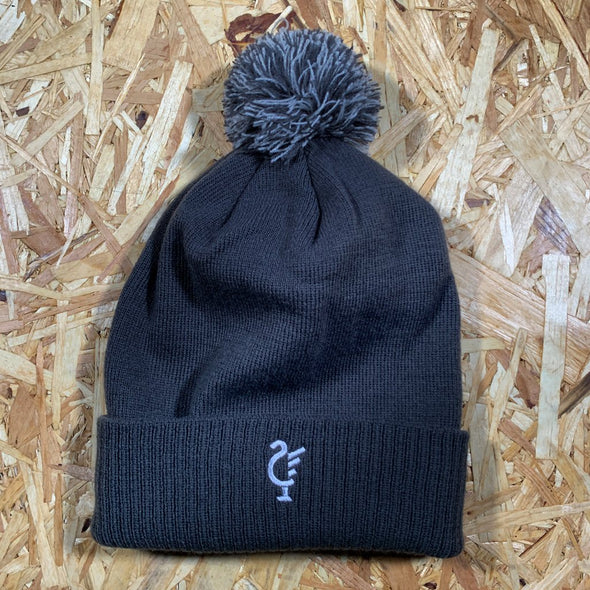 Scouse 77 bobble hat grey/light grey