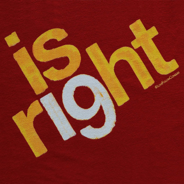 Is Right 19 red t-shirt