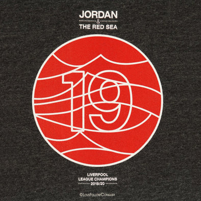 Jordan & The Red Sea charcoal t-shirt