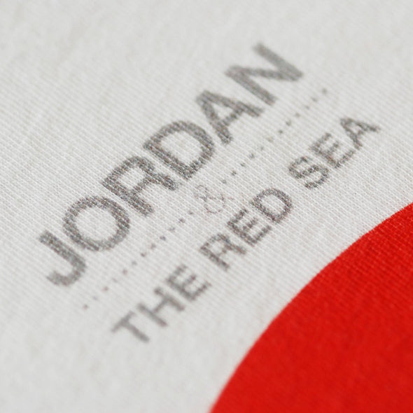 Jordan & The Red Sea white t-shirt