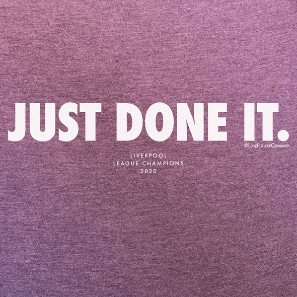 Women's Just Done It t-shirt