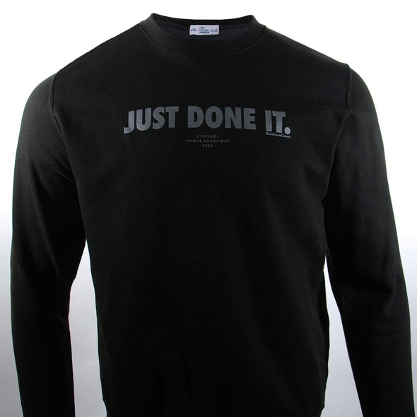 Just Done It Sweatshirt black