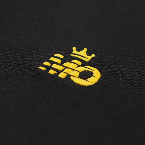 King Mo Polo Black/Yellow