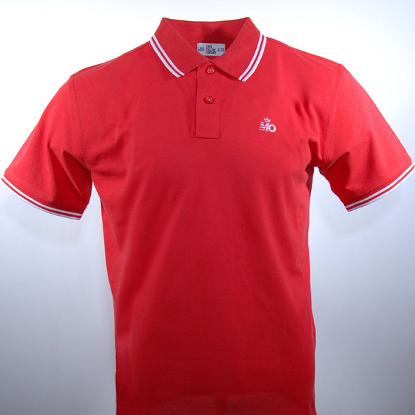 King Mo Polo Red/White