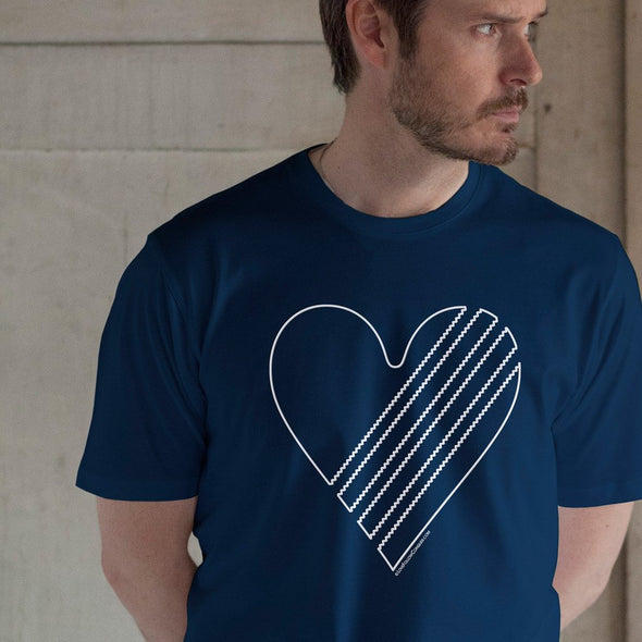 Mersey Love t-shirt in Navy