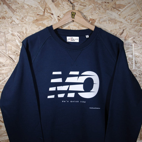 Mo L'pool navy sweatshirt