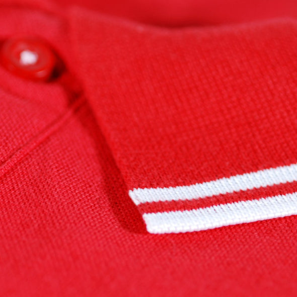 Scouse 77 Polo Red/White