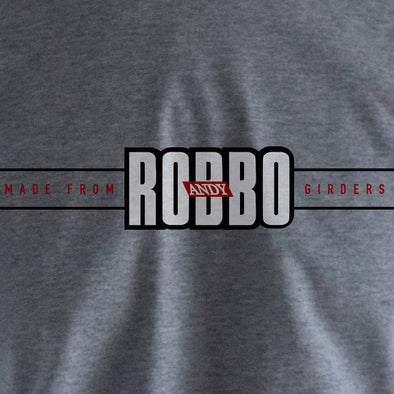 Andy Robbo grey t-shirt