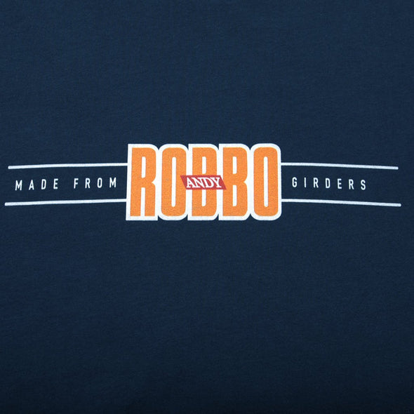 Andy Robbo navy t-shirt