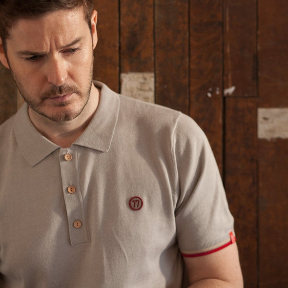 Rome 77 Inspired Grey Polo Shirt