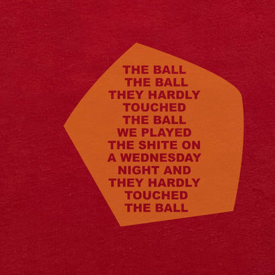 The Ball The Ball red t-shirt