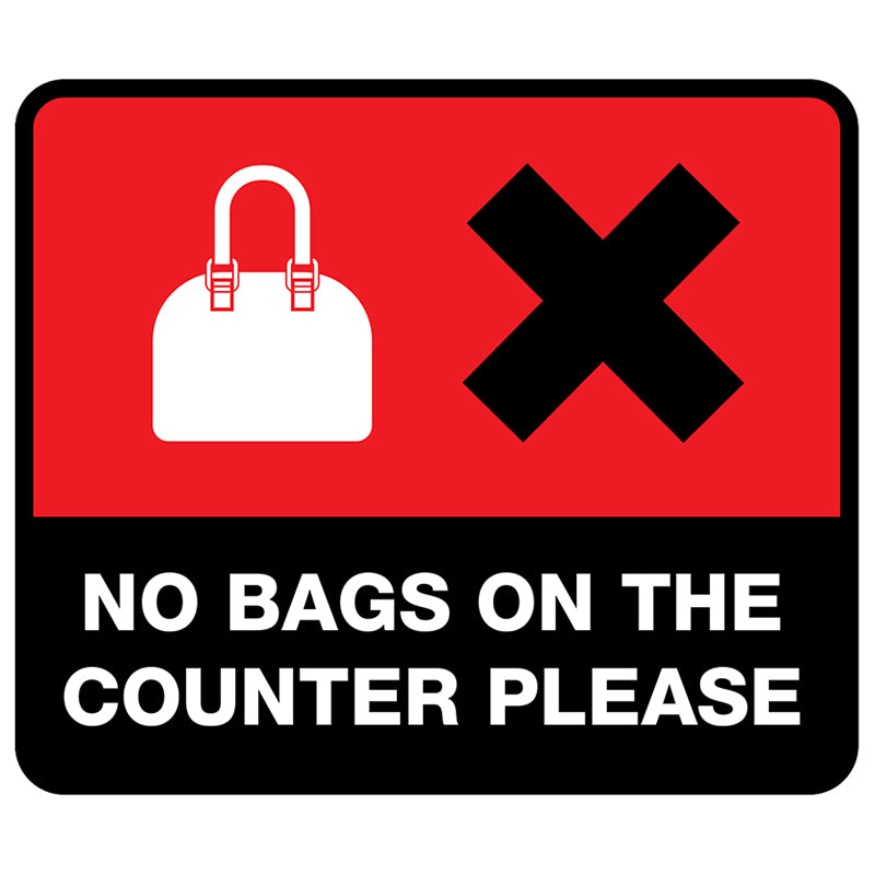 Counter & Staff Protection Sign (CP02)