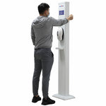 Wrist Body Temperature Scanner & Automatic Hand Sanitizing Dispenser
