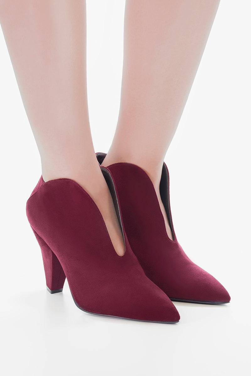 VAMP ANKLE BOOTS