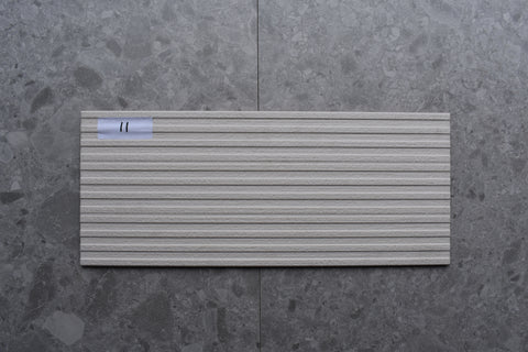 126m2 LOT £8.99 | Striped Natural | 25x60