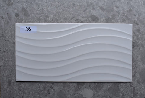 64m2 LOT £8.99 | SIlueta Blanco Brillo | 31.6x63.2