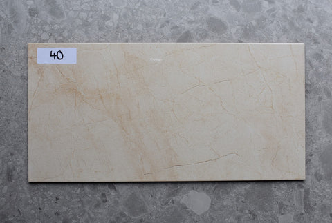 83m2 LOT £8.99 | Savanda Cream | 31.6x63.2
