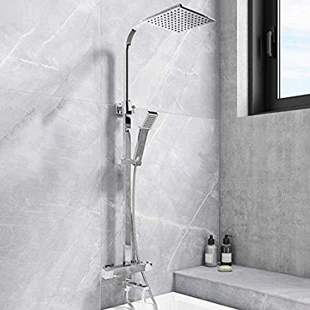 Socorro Square Bath Filler Shower