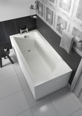 Uno Straight Single End Square/Round Bath
